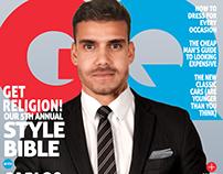 Capa de revista GQ - Fotografia Publicitária