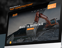 KKP Construction Web Mockup