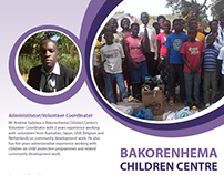 Bakorenhema Children Centre - volunteer brochure
