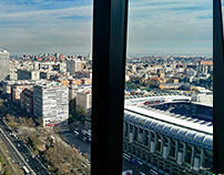 VISTAS DESDE TORRE EUROPA / VIEW FROM EUROPE TOWER L.R