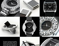 Various watches and acsessories for NIKA watch factory