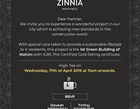 Princecare Zinnia Invite
