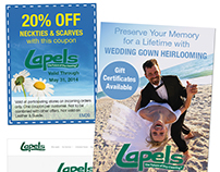 Web Banner Design for Lapels