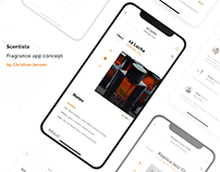 Scentista - Fragrance app concept