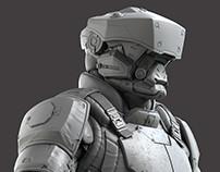 NPC Elite sculpt - Modern Combat Versus - Gameloft