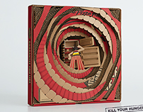Pizza Hut - Behind Every Box, Empty Fridge