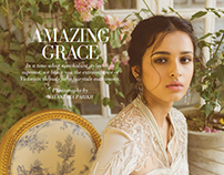 AMAZING GRACE Victorian shoot using Indian couture