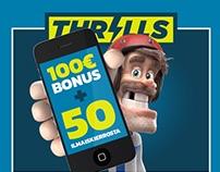 Thrills Finland TV Commercials Branding