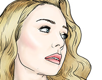 Portrait Sketch Tina Karol