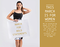 Eleven H - Women's Day Campaign