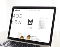 Modern: An E-Commerce Concept