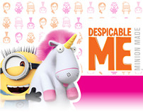 Despicable Me Product and Packaging Design