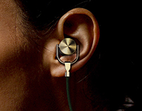 OD / Bluetooth earphone, Product design