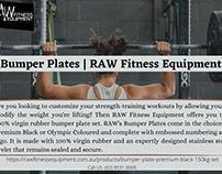 Bumper Plates | RAW Fitness Equipment