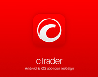 cTrader App icon redesign (2016)