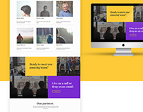 [UI/UX Design] Yellow Digital Website Design