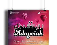 Adapciak - obóz dla studentów I roku UE Wrocław