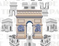 Famous Building - Arc de Triomphe