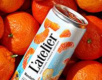 Carbonated beverage «L'ATELIER»
