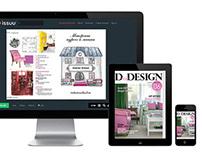 DforDesign magazine for Interior designer