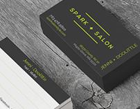 Spark Salon Promotional Material