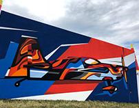 Graffiti master class for Redbullairrace in Kazan