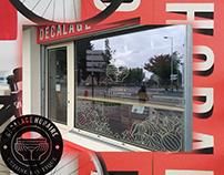 Identity, interior design, art direction of restaurant