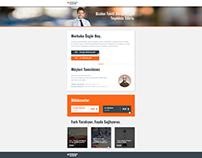 Landing Page (Borusan Lojistik)