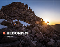 Hedonism Travel website