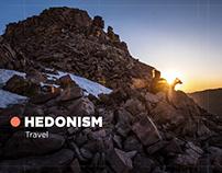 Hedonism Travel website