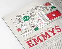 ━ Infografía EMMYS 2017