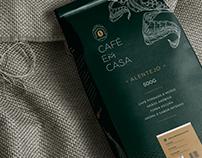 Branding Café em Casa