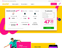Jazztel public website