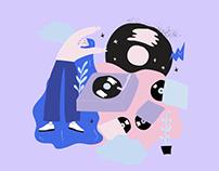 Shirt & Tote Bag Illustration