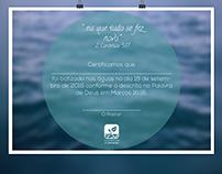 Certificados de Batismo