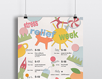 Stress Relief Week Poster