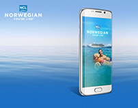 NCL | Norwegian Cruise Line [ UX / UI Design ]