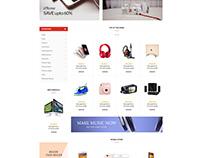 Shopify theme & Magento theme for Camera store