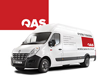QAS Brand Identity | Gestalt Negative Space Design