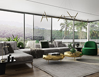 Modern Luxury Design. High quality Vray Visualization