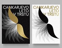 CANKARJEVO LETO V TRSTU — Visual identity