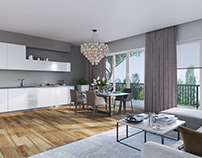 Modern interior in Germany