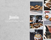 JANIA - Social Media Pack