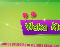 Diseño web www.wakakids.com.ar