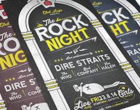 FREE: Rock Night Flyer Template for Photoshop