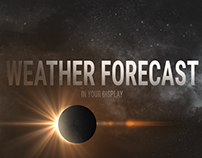 Weather Forecast. Preview