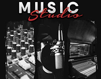 Music Studio 5 Flyer/Poster Template