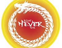 AsiansNeverDie - Instagram Logo Contest