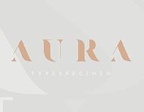 AURA TYPEFACE