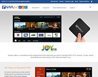 Joy Box Web page